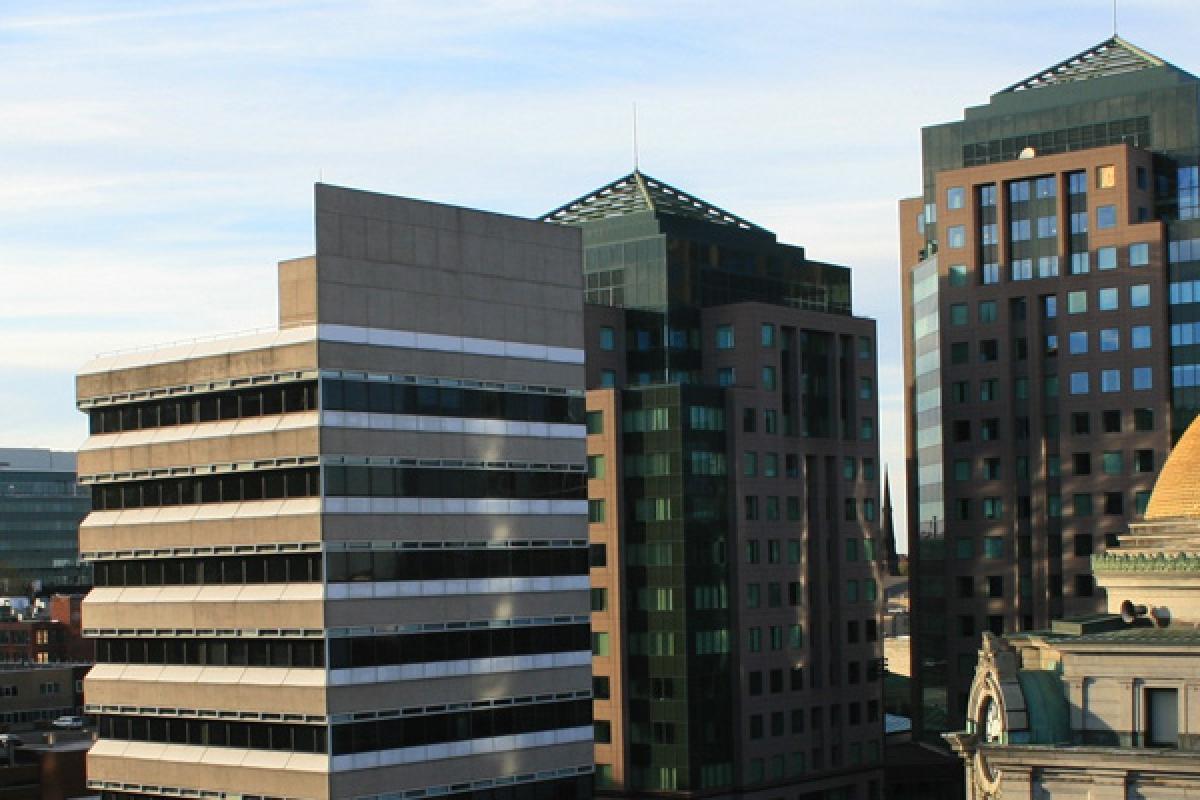 Downtown Buffalo Skyline
