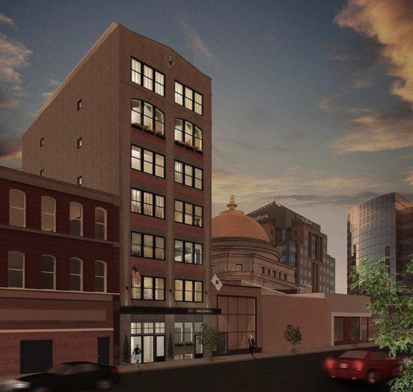 Alexandre Lofts - Exterior Render - Buffalo, NY
