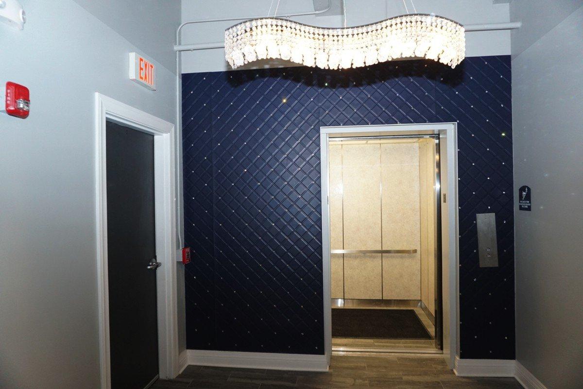 The Alexandre - Interior design (elevator)