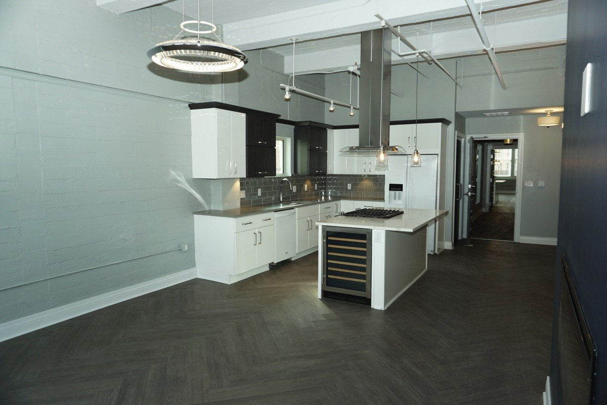 The Alexandre - kitchen from living room