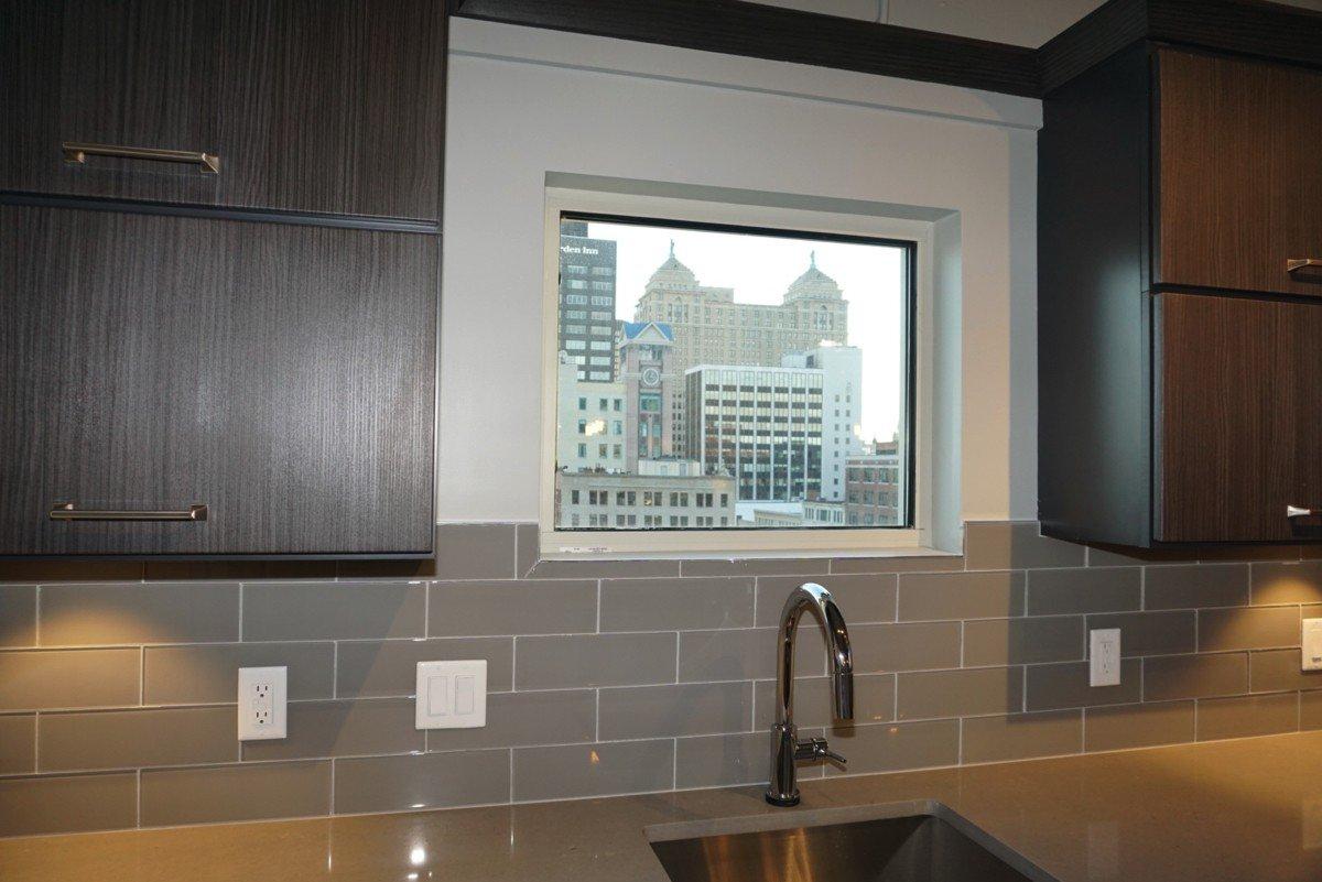 The Alexandre - kitchen window